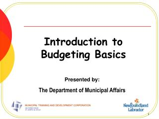Introduction to Budgeting Basics