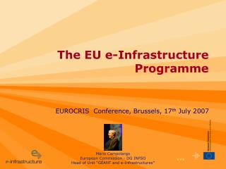 The EU e-Infrastructure Programme