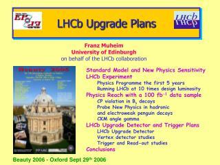 LHCb Upgrade Plans
