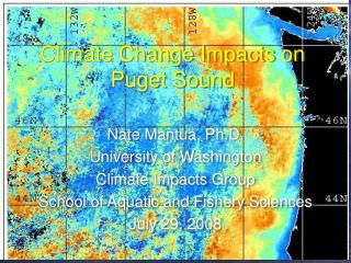 Climate Change Impacts on Puget Sound