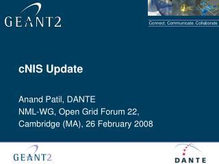 cNIS Update