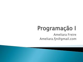 Programa��o I