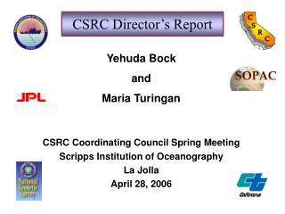 CSRC Director's Report