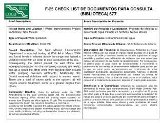 F-25 CHECK LIST DE DOCUMENTOS PARA CONSULTA  (BIBLIOTECA) 67 7