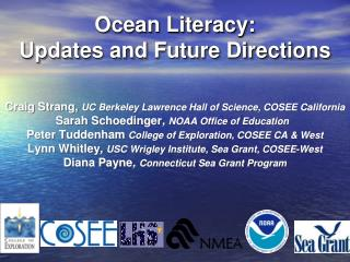 Ocean Literacy: Updates and Future Directions