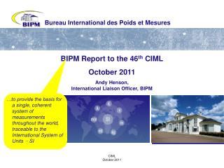 Bureau International des Poids et Mesures