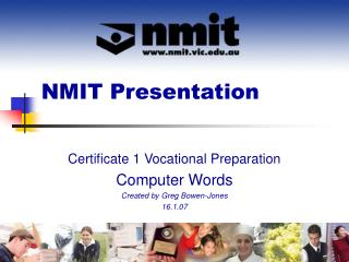 NMIT Presentation