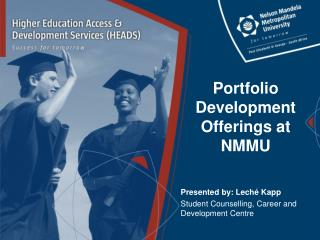 Portfolio Development Offerings at NMMU