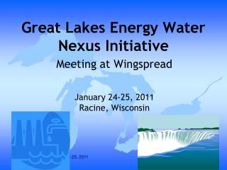 Great Lakes Energy Water Nexus Initiative