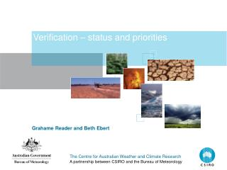Verification – status and priorities