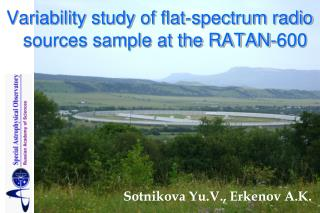 Variability study of flat-spectrum radio sources sample at the RATAN-600