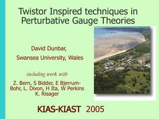Twistor Inspired techniques in Perturbative Gauge Theories