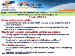 CHALLENGES  Privacy & Consent to publish