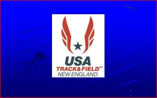 BID APPLICATION USA TRACK & FIELD - NEW ENGLAND