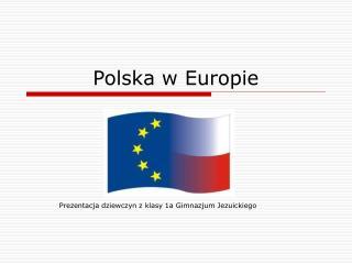 Polska w Europie
