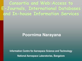 Poornima Narayana