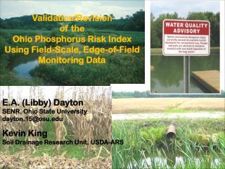 E.A. (Libby) Dayton SENR, Ohio State University dayton.15@osu
