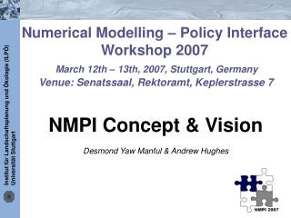 NMPI Concept & Vision Desmond Yaw Manful & Andrew Hughes