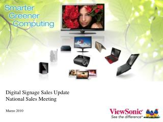 Digital Signage Sales Update  National Sales Meeting   Marzo 2010