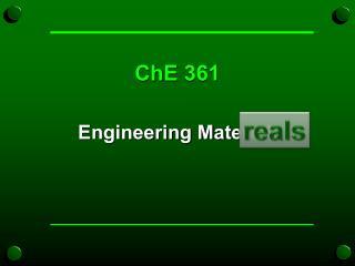 ChE  361