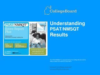 Understanding PSAT/NMSQT Results