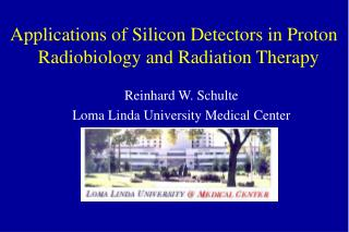 Applications of Silicon Detectors in Proton   Radiobiology and Radiation Therapy