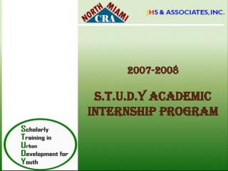 2007-2008  s.t.u.d.y Academic internship program
