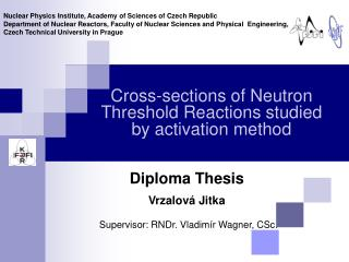 Cross-sections of Neutron Threshold Reactions studied by activation method