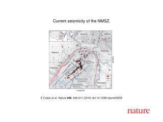 E Calais  et al. Nature 466 ,  608 - 611  (2010) doi:10.1038/nature09258