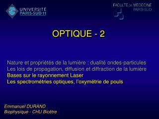 OPTIQUE - 2