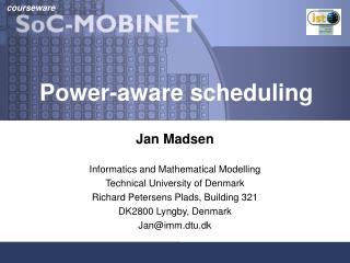 Power-aware scheduling