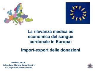 Nicoletta Sacchi   Italian Bone Marrow Donor Registry E.O. Ospedali Galliera - Genova