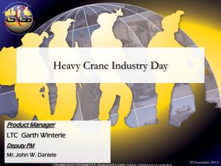 Heavy Crane Industry Day