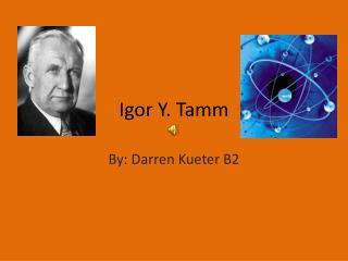 Igor Y. Tamm