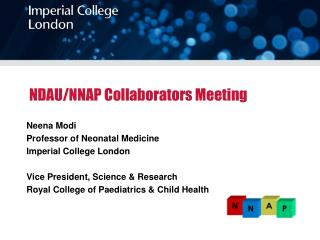NDAU/NNAP Collaborators Meeting