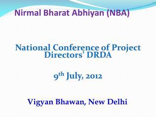 Nirmal Bharat Abhiyan (NBA)