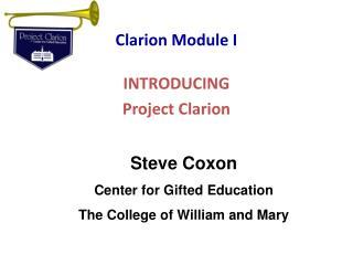 Clarion Module I