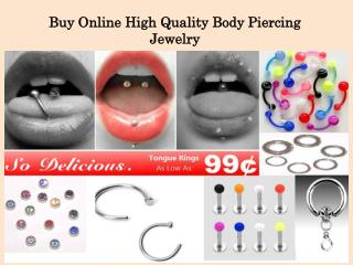 Buy Online High Quality Body Piercing  Jewelry