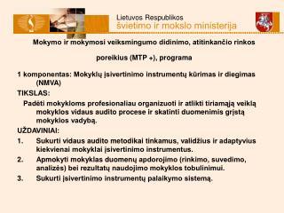 Mokymo ir mokymosi veiksmingumo didinimo, atitinkančio rinkos poreikius (MTP +), programa