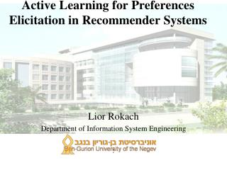 Active Learning for Preferences Elicitation in Recommender Systems