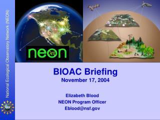 BIOAC Briefing November 17, 2004