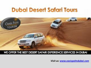 Dubai Desert Safari - Book Desert Safari Tours Dubai