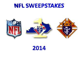 NFL  SWEEPSTAKES