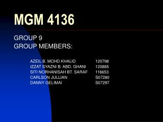 MGM 4136