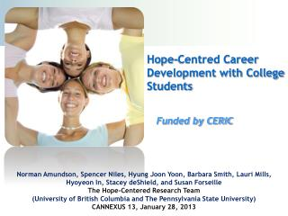 Hope-Centred Career Development with College Students