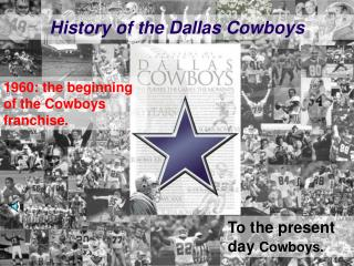 History of the Dallas Cowboys