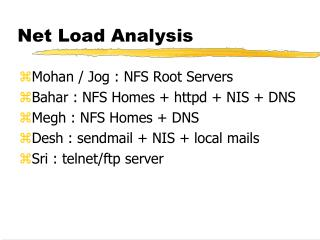 Net Load Analysis