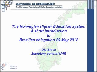 Norwegian Higher Education