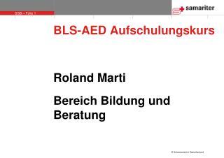 BLS-AED Aufschulungskurs