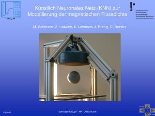 Künstlich Neuronales Netz (KNN) zur Modellierung der magnetischen Flussdichte